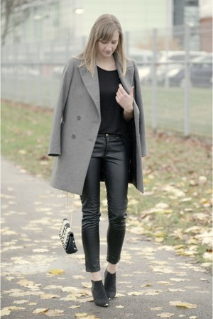 H&M bag - Zara coat - H&M pants