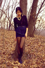 Steve-madden-girl-boots-forever-21-necklace-vintage-top