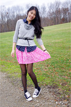 Forever 21 sneakers - H&M dress - Old Navy top