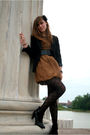 Black-jcpenny-blazer-green-twelve-by-twelve-dress-black-payless-shoes-fore
