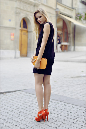 Louis Vuiton bag - Zara dress - Zara heels