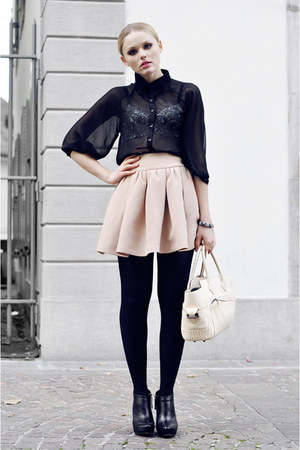 Reed Krakoff bag - Stylebysofia shirt - Zara skirt - Mango heels