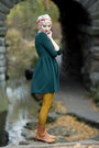 Vintage-boots-persunmall-dress-ross-tights