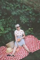 Mata Traders skirt - thrifted shoes - OASAP shirt