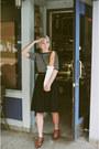 Ebay-vintage-shoes-thrifted-vintage-top-thrifted-vintage-skirt