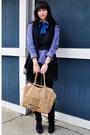 Black-vintage-vest-blue-vintage-shirt-black-j-brand-jeans-black-gap-scarf-