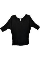 black American Apparel blouse
