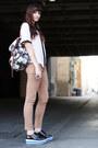 Bag-bdg-pants-chanel-esque-vintage-blouse-sneakers
