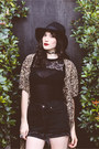 Black-cut-out-urban-outfitters-boots-black-cheetah-thrifted-vintage-dress