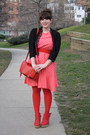 Red-tights-bubble-gum-polka-dot-dress-red-h-m-purse-red-sandals