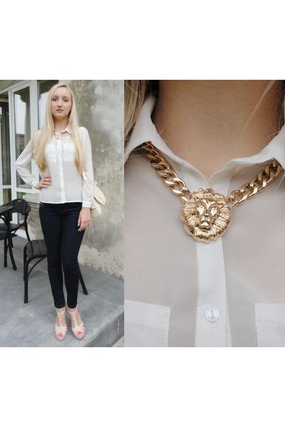 Choies necklace - OASAP bag