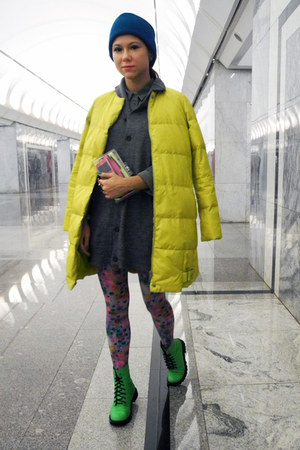 yellow JNBY coat