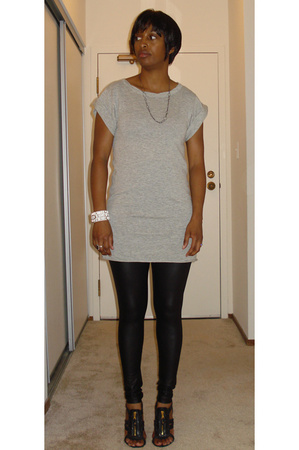banana republic sweater - American Apparel pants - balenciaga shoes