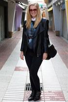 Sacha boots - Alexander Wang bag - Givenchy sweatshirt