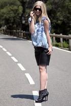 Zara heels - H&M Trend pants