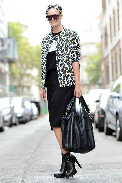 Zara boots - H&M jacket - Givenchy bag