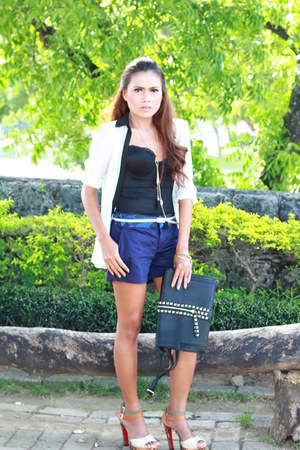 Swoon purse - tailored shorts Plain and Prints shorts - Mango suit