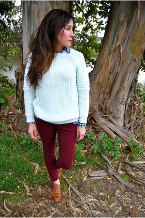 H&M sweater - Gap shirt - pants pants