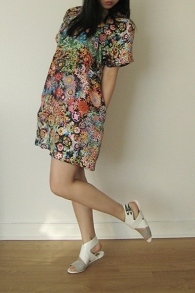 See by Chloe dress - Chloe shoes - thrifted sunglasses
