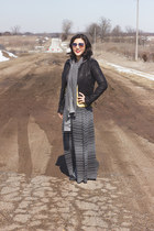 heather gray Acanthus Apparel scarf - maxi Target skirt