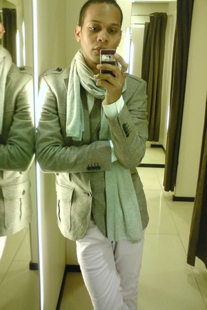 Zara blazer - Zara scarf - Zara shirt - Zara pants