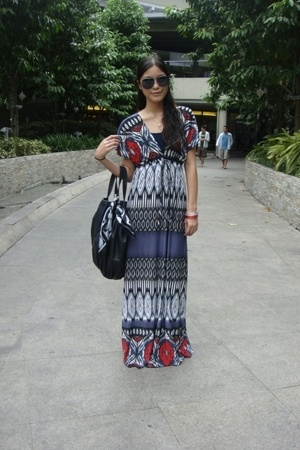 dress - Zara purse - prp sunglasses - tonic shoes - unknown brand accessories - 