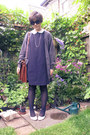 Black-cotton-cos-dress-tawny-satchel-vintage-bag-black-oversized-miu-miu-sun