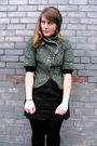 Black-urban-outfitters-skirt-green-urban-outfitters-blazer-black-hue-tights-
