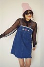 Vintage-shift-denim-dress-dress