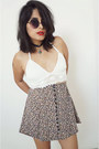 Express-skirt-crochetwhite-top