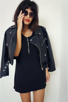 motorcycle Nasty Gal jacket - dress