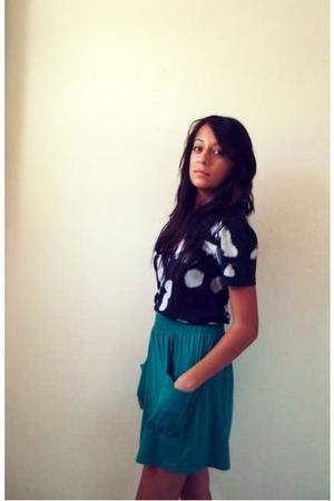 Urban Outfitters shirt - American Apparel skirt