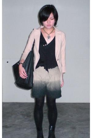 blazer - dress - accessories - accessories