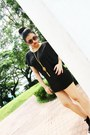 Black-suade-topshop-heels