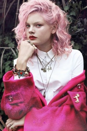 Pink Hair hat