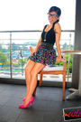 Black-calvin-klein-top-vintage-dress-pink-from-japan-shoes