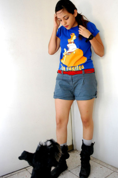 t-shirt - shorts - Gap socks - Zara shoes