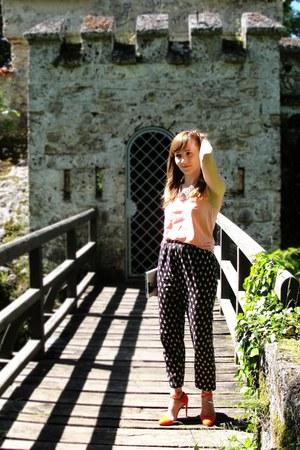 asos pants - Zara heels