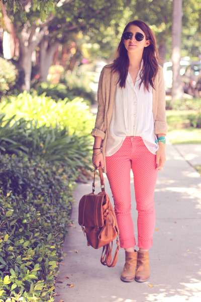 Light-brown-backpack-forever21-bag-brick-red-polka-dot-jeans-ag-pants_400