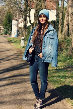 H&M jeans - Pimkie jacket - Zara pumps