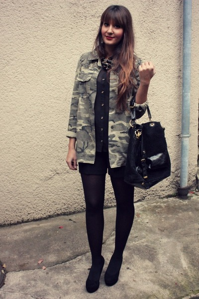 Zara jacket - asos tights - Primark blouse