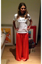 Sheinside t-shirt - Mango pants