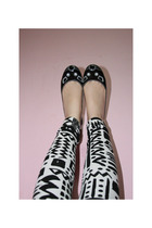 Topshop leggings - Marc by Marc Jacobs shoes