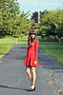 Ruby-red-my-own-design-dress