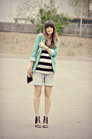 green Urban Planet blazer