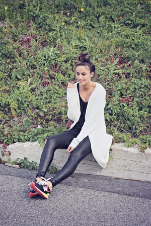 ivory maxi knit Missguided cardigan