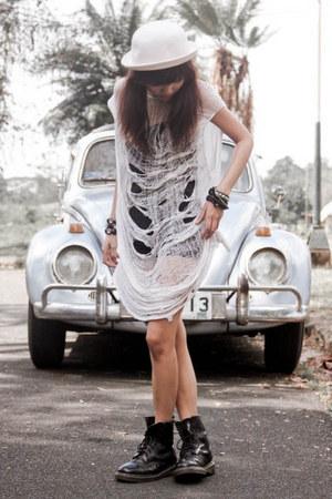 Dr Martens boots - DIY dress