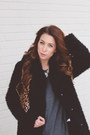 Black-faux-fur-topshop-jacket-black-target-boots-gray-cotton-topshop-dress