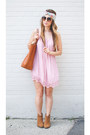 Light-brown-cowboy-steve-madden-boots-light-pink-slip-forever-21-dress