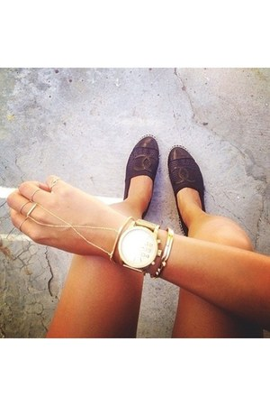 Marc Jacobs watch - Chanel shoes